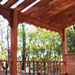 Covered Pergola Close-up